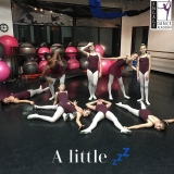 Level 5 Dancers after an exciting class!